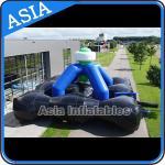 Buy cheap 0.55mm PVC Tarpaulin Inflatable Laser Tag Games / Inflatable Laser Shooting Games from wholesalers