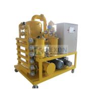 Buy cheap Power Station Transformer Oil Purifier Machine Automatic Foaming Elimination 380V from wholesalers