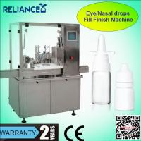 Buy cheap Sterile eye drops filling plugging capping machine from wholesalers