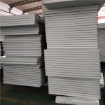 Buy cheap precast concrete 50mm eps sandwich fence panels 950-50-0.326mm from wholesalers