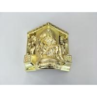 Buy cheap Plastic Coffin Corner Decoration Coffin Hardware Golden Color Superior Plating from wholesalers