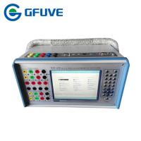 Buy cheap GFUVE multi phase protective relay test system for Differential protection device from wholesalers