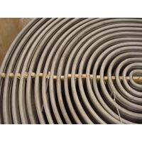 Buy cheap Stainless Steel U Bend Tube , ASTM A213/ ASME SA213 TP316L /TP316Ti / TP316H , 100% ET & HT , For Heating Application from wholesalers