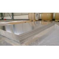 Buy cheap Waterproof Marine Grade Aluminum Sheet , 5083 Alloy 4mm Aluminum Sheet product