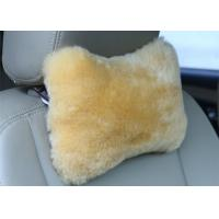 Buy cheap Bone Shape Lambswool Seat Cushion Soft Comfortable For Car Decoration / Headrest from wholesalers
