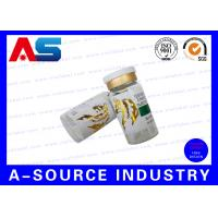 Adhesive Hot Roll Customized 30ml Vial Bottle Label Private Sticker