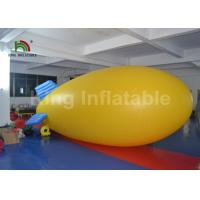Buy cheap Outdoor Airship PVC 5m Helium Inflatable Advertising Balloons For Commercial from wholesalers