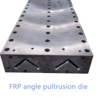 Buy cheap Fiberglass dual cavity angle profile pultrusion mold from wholesalers