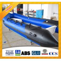 Buy cheap Blue color RIB Inflatable boat for water sports from wholesalers