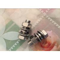 Buy cheap DIN933 DIN934 DIN125 Inconel 625 Fasteners , Alloy 625 Nickel Fasteners from wholesalers