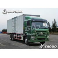 Buy cheap HOWO 6x4 ENGINE POWER 371HP, 60 CBM, LOAD 30TON VAN TRUCK from wholesalers