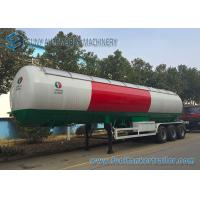 Buy cheap Q345R / Q370R LPG Tank Trailer 58.5 CBM 58500L 24.5 Ton With Sunshade from wholesalers