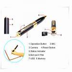 Buy cheap mini pen hidden micro camera mini dv dvr video camera  spy camera pen from wholesalers