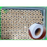 China 80 grams Smooth surface wear resistance inkjet plotter paper in roll on sale