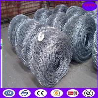 Buy cheap 450mm, 600mm, 900mm Bto-10 Flat Razor Wire from wholesalers