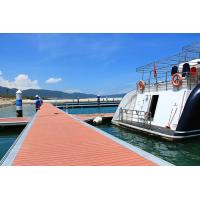 Buy cheap Sea Aluminum Floating Docks Pier On Water HDPE Floats Customized Height from wholesalers
