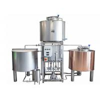 Buy cheap Dimple Plate Jacket Pilot Brewing System 200L Stainless Stain 304 For Brewing Plant from wholesalers