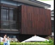 Buy cheap Eco Friendly Bamboo Timber Wall Panels , Exterior Wood Plank Wall Paneling from wholesalers