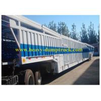 Buy cheap Stainless steel Car Hauler Trailer JOST Landing Grear Blue Color with Six Big Chambers from wholesalers