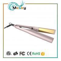 Buy cheap TYME Professional Gold Titanium Hair Straightener Flat Iron with 5 Heat Setting from wholesalers