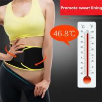 Buy cheap Hot Slimming Shaper Sweat Sauna Waist Trimmer Back Brace Belt To Correct Posture,Material is SBR. size is 79cm*18cm from wholesalers