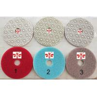 Buy cheap Orbital Sander Marble 3 Step Diamond Polishing Pads  , Grinder Concrete Polishing Discs from wholesalers
