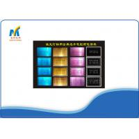 Buy cheap Blank Metal Business Cards Laser Colorful For A4 / A3 Sublimation Paper from wholesalers