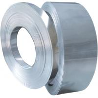 Buy cheap DC03 SPCD Full Hard standard brushed stainless Cold Rolled process galvanizing Steel Strips from wholesalers