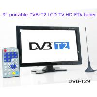 Buy cheap DVB-T29 9 inch portable DVB-T2 LCD TV monitor 2014 HD FTA digital TV receiver decoder from wholesalers