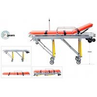 Buy cheap Ambulance Stretcher, with high-strength aluminum alloy frame and Waterproof PVC mattress from wholesalers