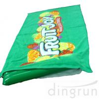 Buy cheap Green Color Roll Up Promotional Beach Towels Mat Neck Pillow Environment Friendly from wholesalers