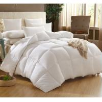 Buy cheap 15% White Goose Down 85% Goose Feather Cotton Quilt / Warm Duvet for Hotel or Home from wholesalers