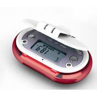 Buy cheap Electronic body fat pedometer DH-TM078 with automatic timer count cards from wholesalers