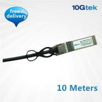 Buy cheap 10G SFP+ Copper direct-attached Twinax cable 10 Meters, Active (CAB-10GSFP-A10M) product