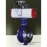 Buy cheap High Temperature Resistant Material Flange Butterfly Valve ASME B16.5 Flanged Dimension from wholesalers
