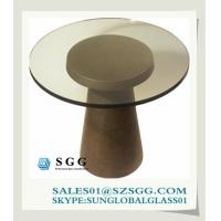 Buy cheap rotating glass coffee table (round,oval,square,rectangle) from wholesalers