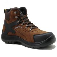 Buy cheap Injection pu/pu  with steel toe cap full grain  leather safety shoes from wholesalers