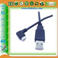 Buy cheap angled micro usb angle cable product