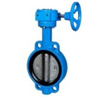 Buy cheap Zero Leakage Centerline Butterfly Valves Wafer Gearbox Operated Feature from wholesalers