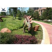 Buy cheap Colorful Outdoor Dinosaur Statues Placed Playground For Exhibit from wholesalers