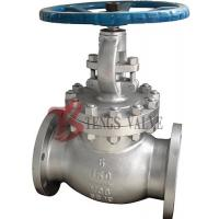 Buy cheap Industrial Straight Globe Valve Cast Steel Metal Seat HF Manual Operated 150LB J40H from wholesalers