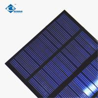 Buy cheap 12V 1.3W Residential Solar Power Panels ZW-85115-12V 24 Battery Silicon Solar PV product
