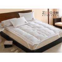 Buy cheap Comfortable Home Hotel Pillow Top Mattress Pad OEM / ODM Available from wholesalers