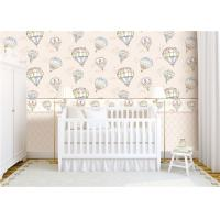 Buy cheap Heat Insulation Kids Bedroom Wallpaper For Wall Decoration , Hot Air Balloon Pattern product