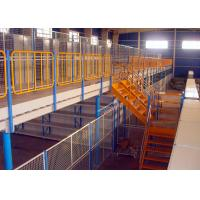 Buy cheap H Beams Round Pipes Structural Mezzanine Warehouse Storage Racks 1000 Kg Per Sqm from wholesalers