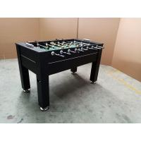 Buy cheap Easy Assemble Standard Foosball Table , MDF Soccer Game Table With Leg Ball Return from wholesalers