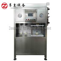 Buy cheap Electric Beer Can Filling Machine , Semi Automatic Beer Can Filler Easy To Operate from wholesalers