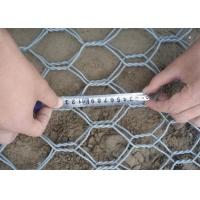 Buy cheap Heavy Zinc Stone Cages For Retaining Walls , Gabion Wire Mesh 3.5 Wire Daimeter from wholesalers