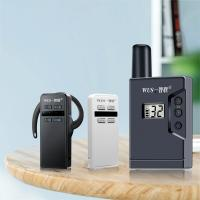 Buy cheap Rechargeable wireless  bluetooth tour guide walkie talkie for simultaneous interpretation from wholesalers