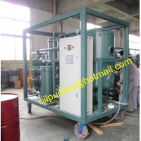 Buy cheap PLC Lubricant Oil Water Separation Equipment ,Lubricant Oil Purification Machine, Vacuum Drying dehydration lube oil from wholesalers